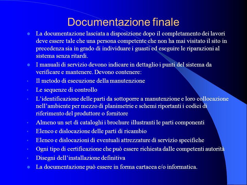 Documentazione finale