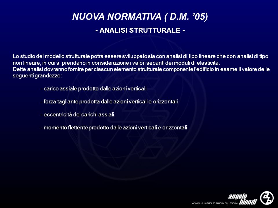 - ANALISI STRUTTURALE -