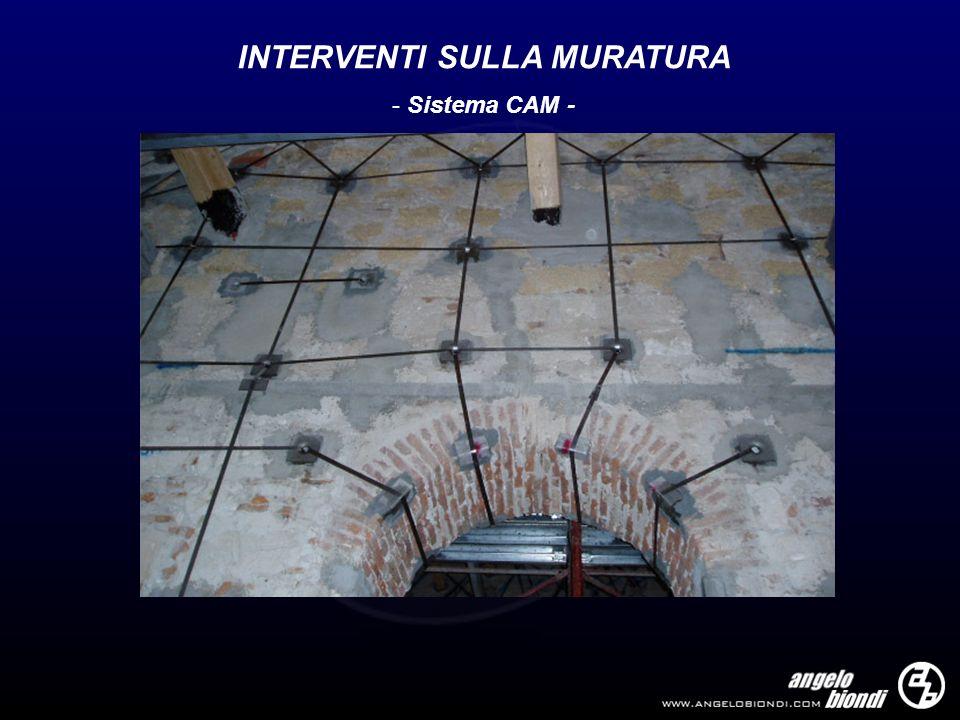 INTERVENTI SULLA MURATURA