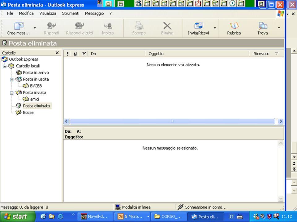 Rif 7.4.3.2 Dopo aver creato l'account fare CLIC sul menu STRUMENTI