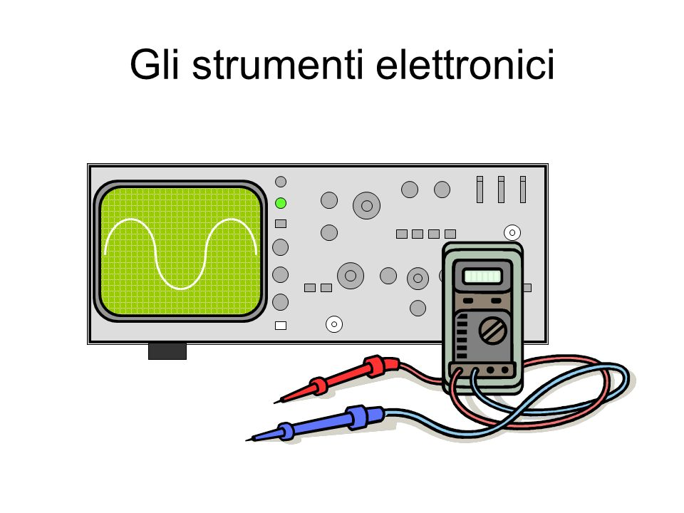 Gli strumenti elettronici