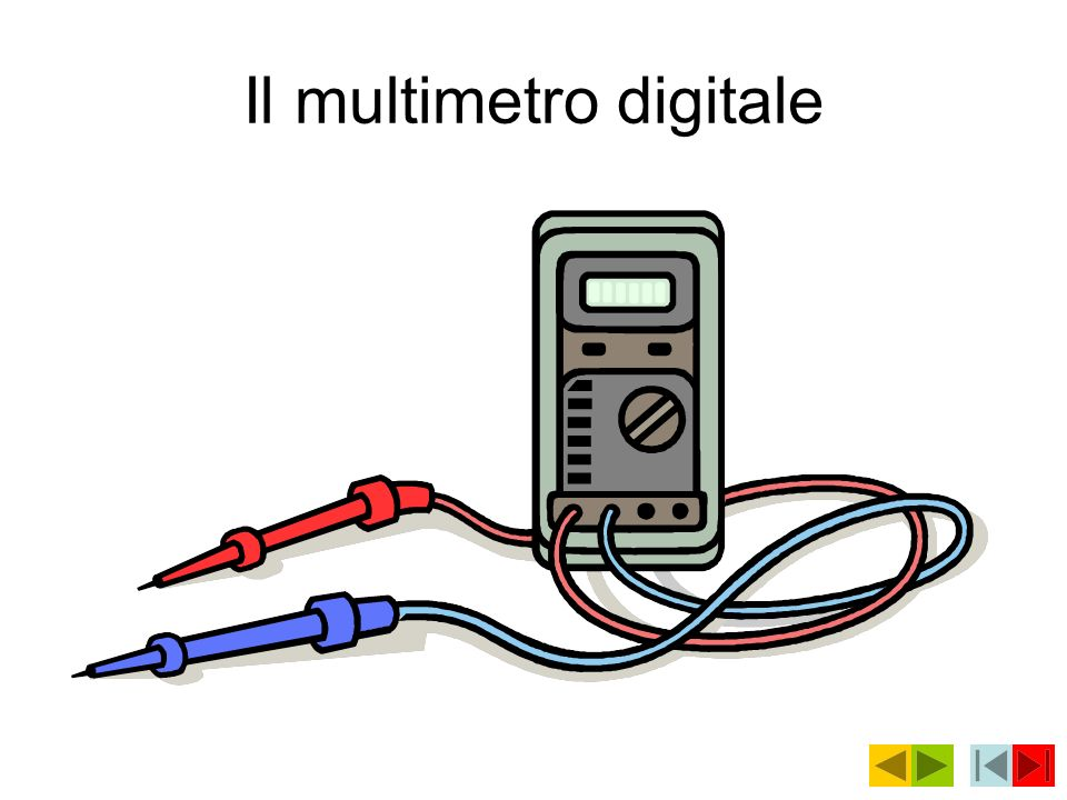 Il multimetro digitale