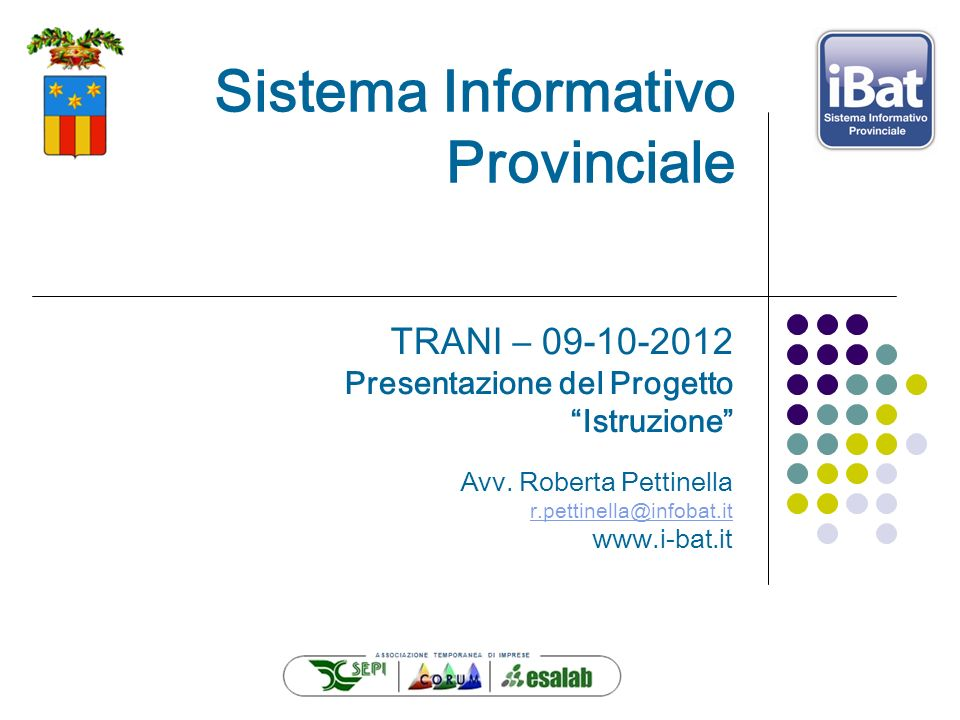Sistema Informativo Provinciale