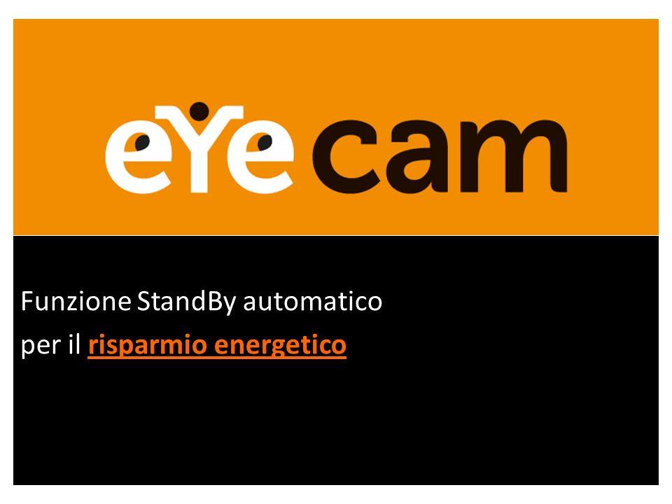 Funzione StandBy automatico per il risparmio energetico