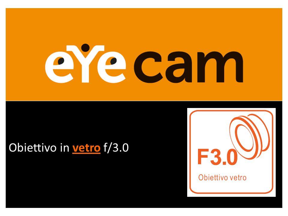 Obiettivo in vetro f/3.0