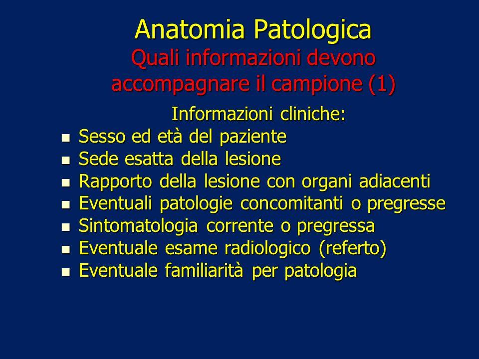 Informazioni cliniche: