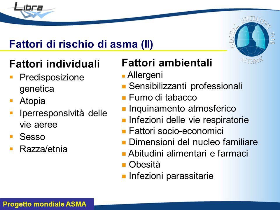 Fattori di rischio di asma (II)
