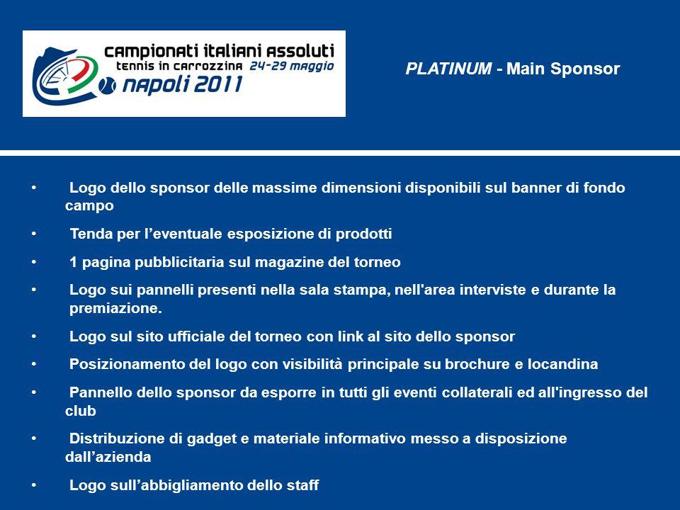 PLATINUM - Main Sponsor