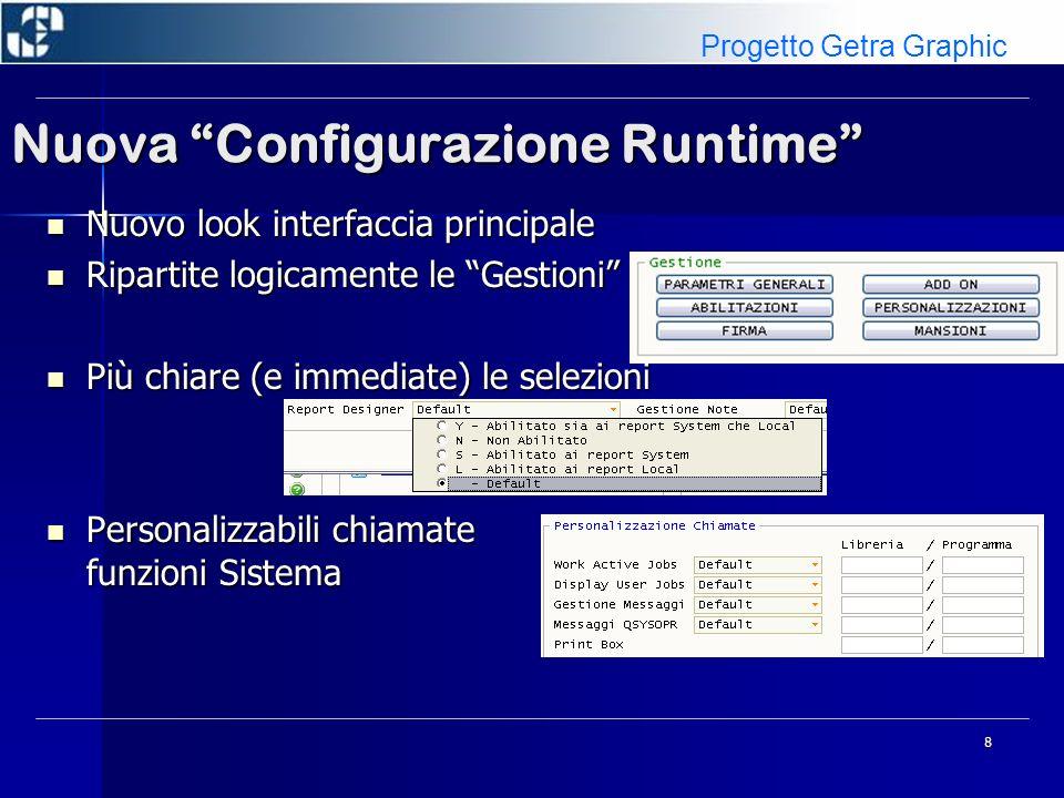Nuova Configurazione Runtime