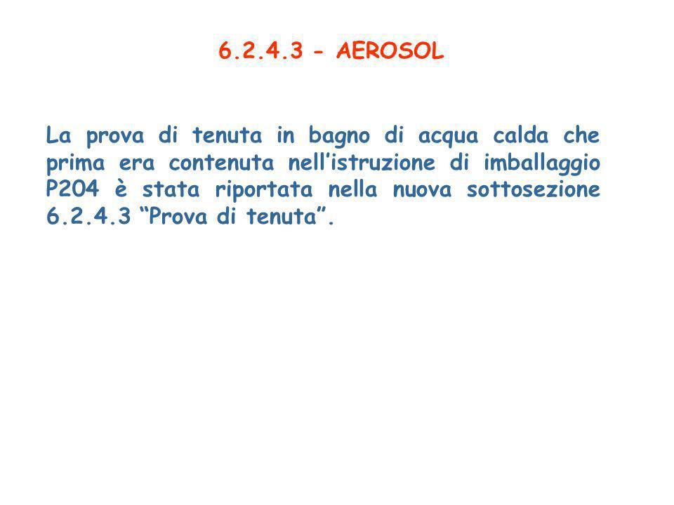 6.2.4.3 - AEROSOL