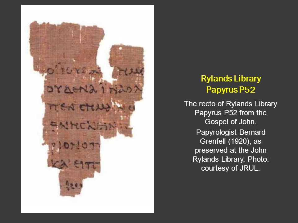 Rylands Library Papyrus P52