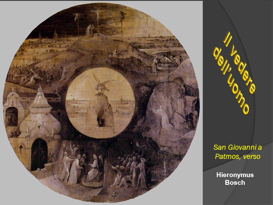 San Giovanni a Patmos, verso