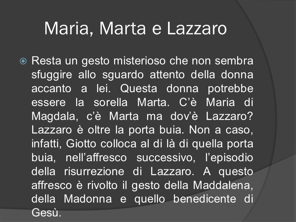 Maria, Marta e Lazzaro