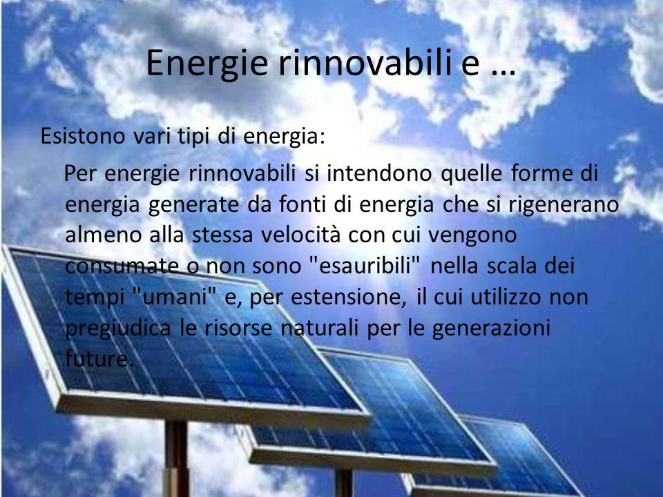 L energia ppt video online scaricare - Diversi tipi di energia ...