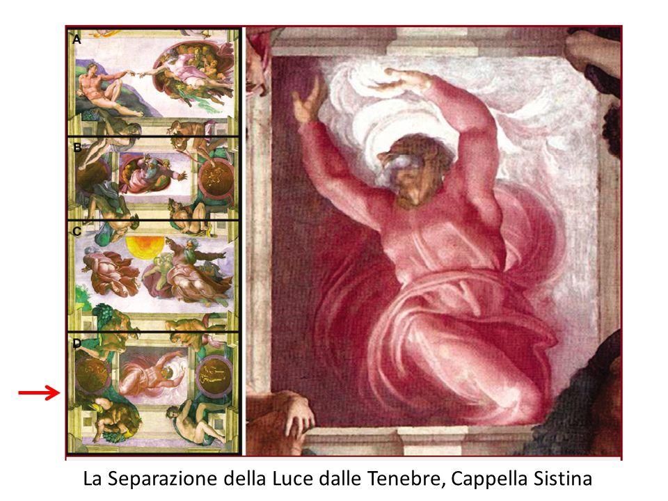 La Separazione della Luce dalle Tenebre, Cappella Sistina