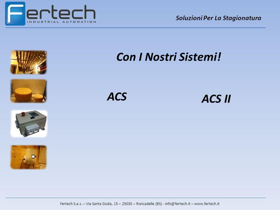 Con I Nostri Sistemi! ACS ACS II