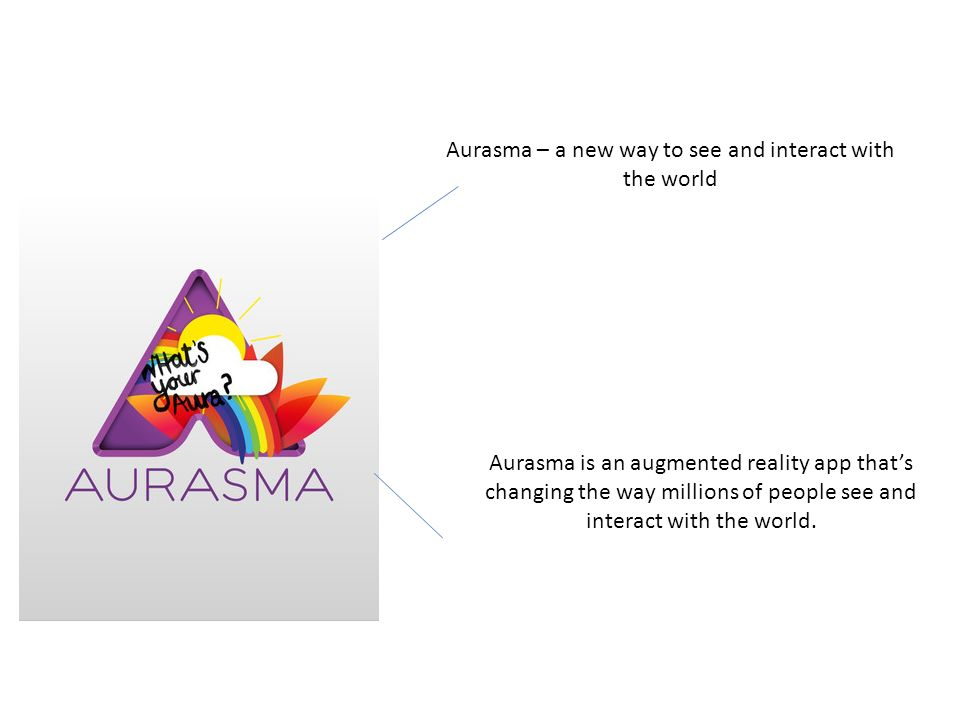 Aurasma – a new way to see and interact with the world