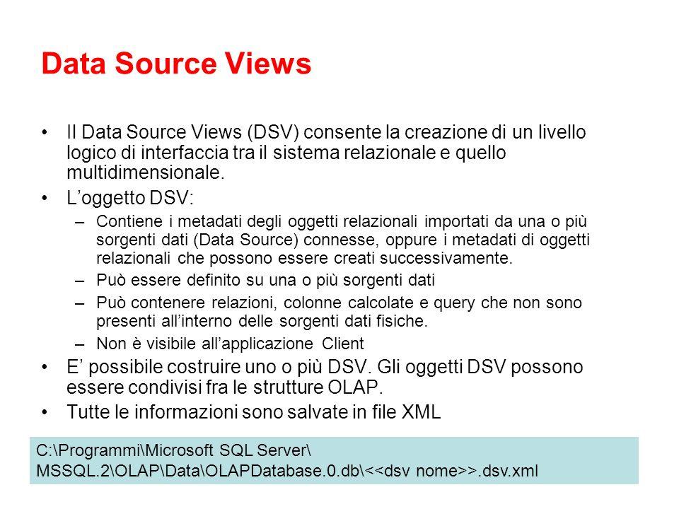 Data Source Views