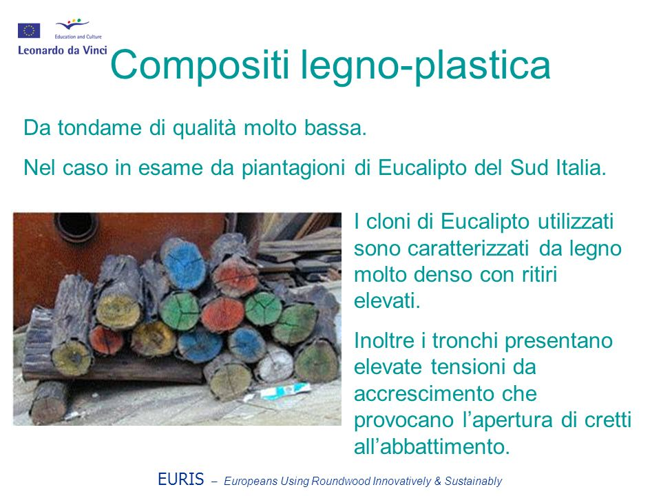 Compositi legno-plastica