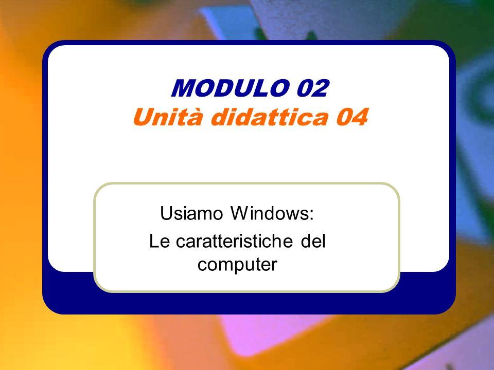 MODULO 02 Unità didattica 04