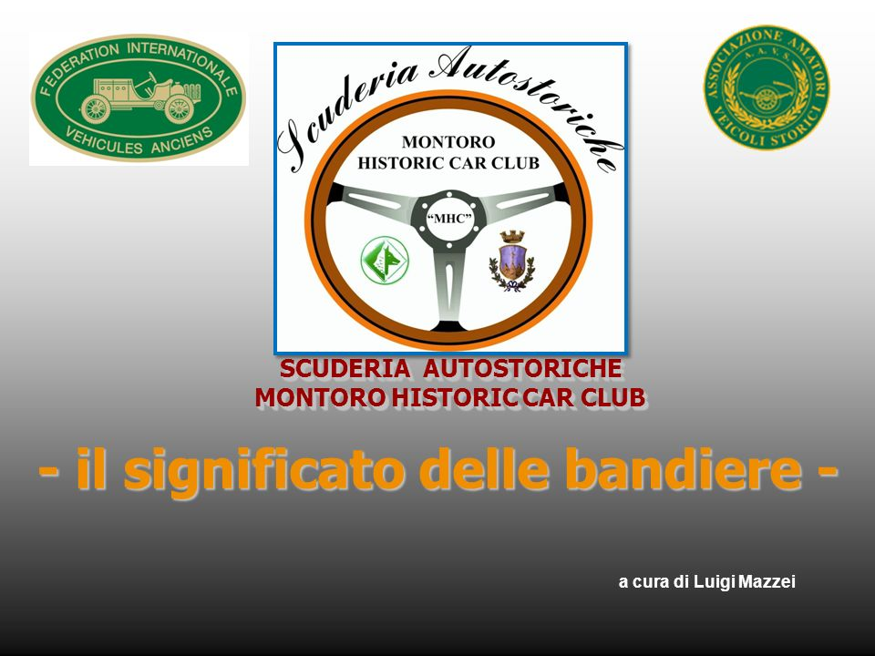 SCUDERIA AUTOSTORICHE MONTORO HISTORIC CAR CLUB