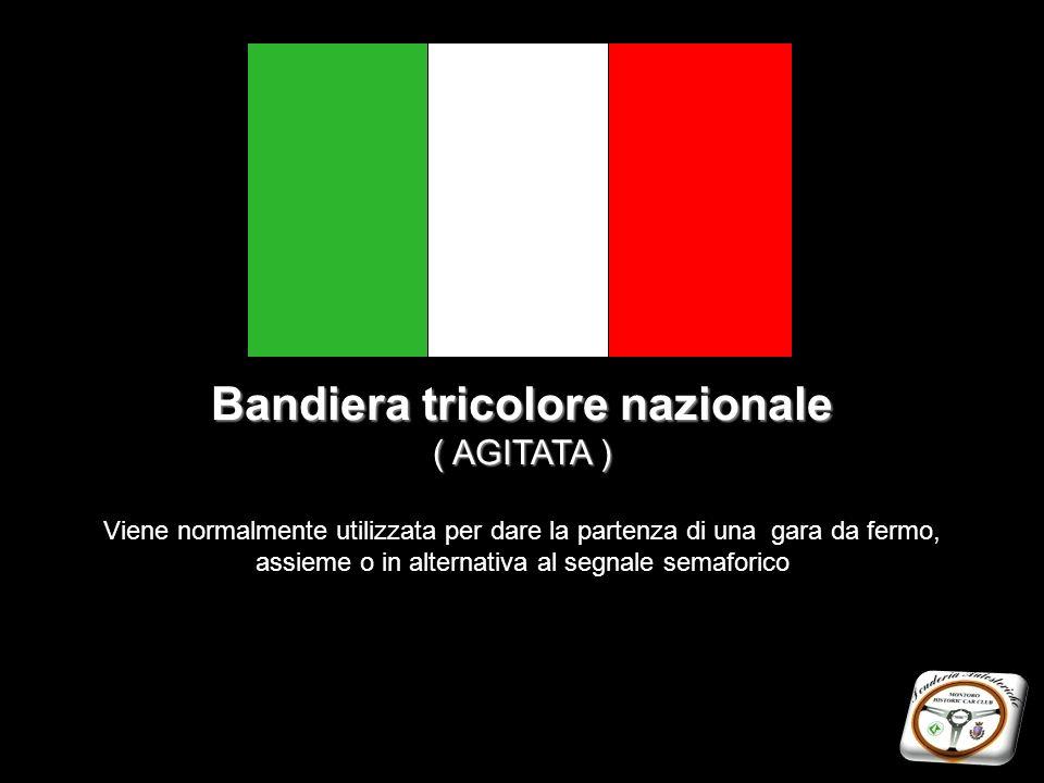 Bandiera tricolore nazionale