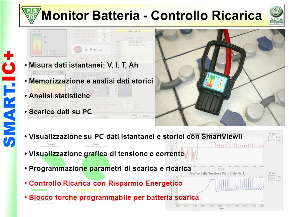 Monitor Batteria - Controllo Ricarica