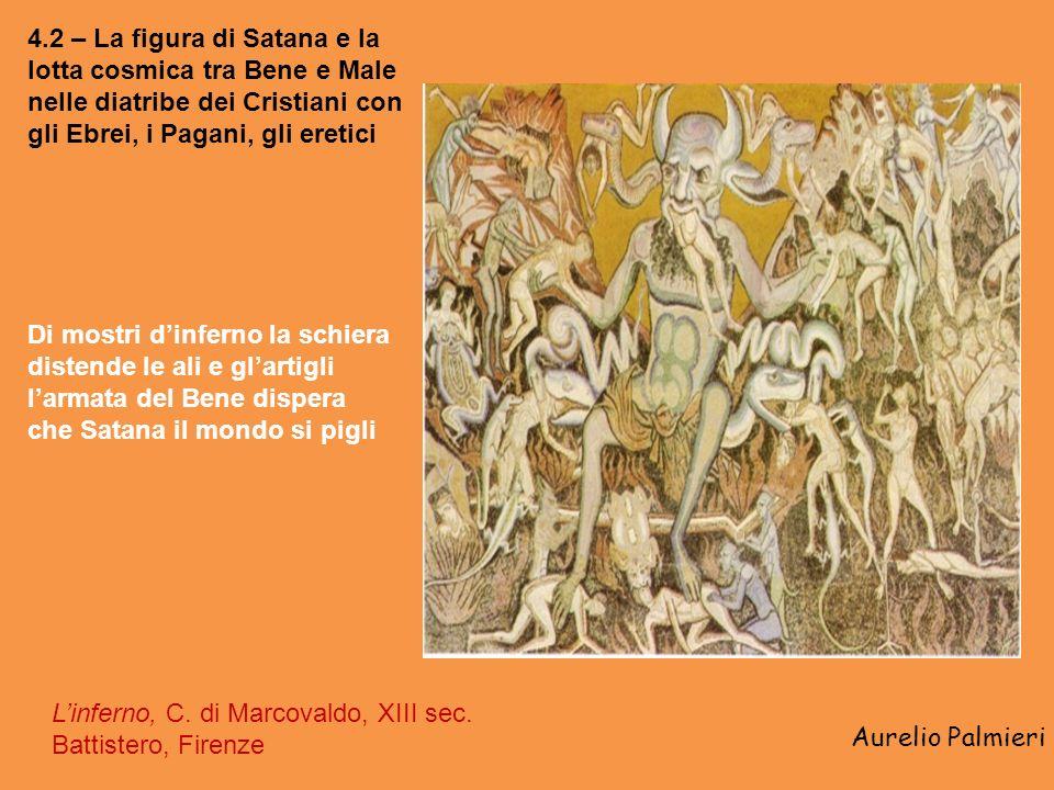 4.2 – La figura di Satana e la lotta cosmica tra Bene e Male nelle diatribe dei Cristiani con gli Ebrei, i Pagani, gli eretici