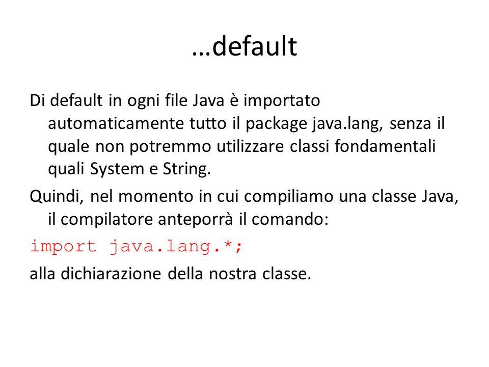 …default