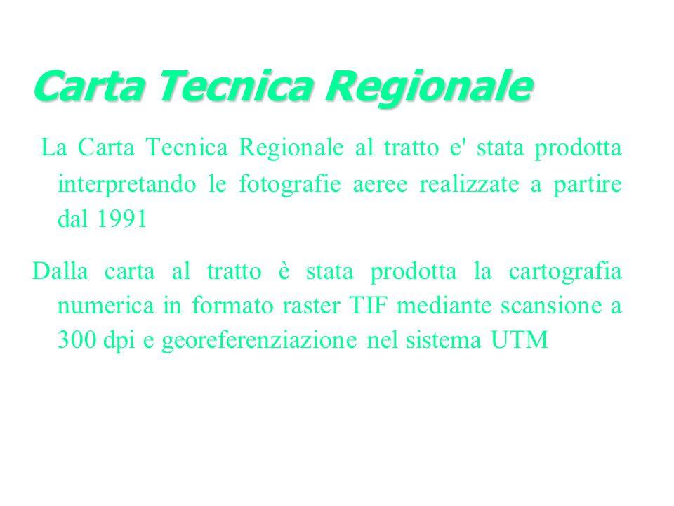 Carta Tecnica Regionale