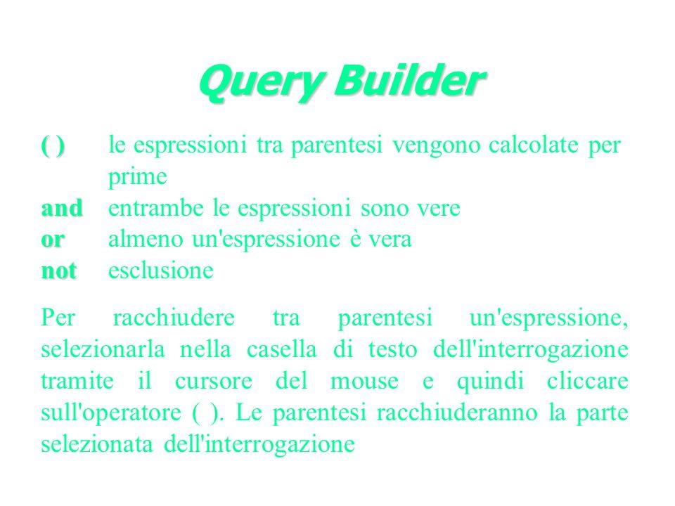 Query Builder