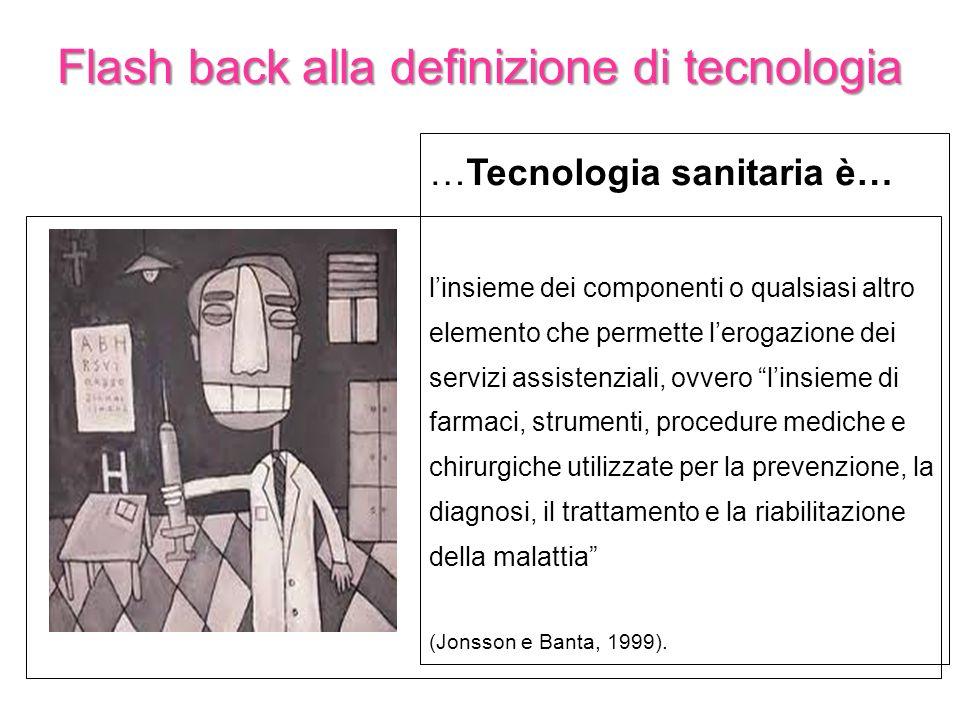 Flash back alla definizione di tecnologia