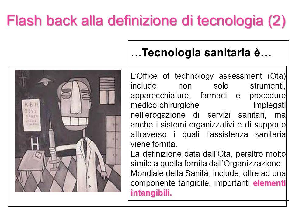 Flash back alla definizione di tecnologia (2)