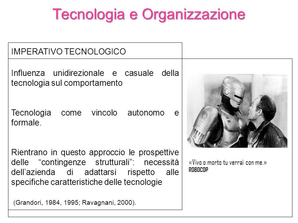 Tecnologia e Organizzazione