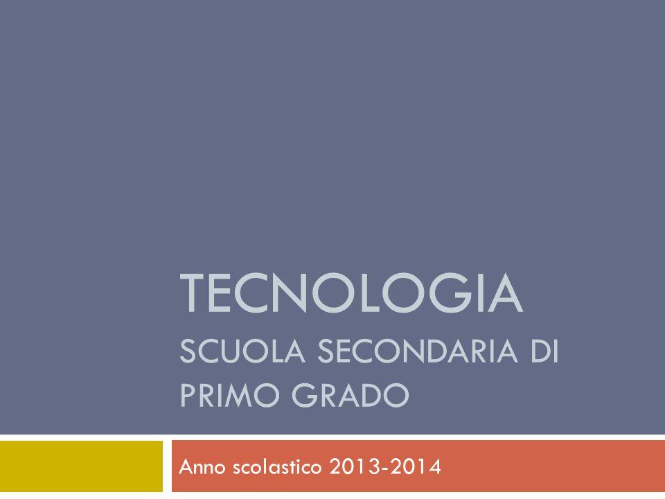 Tecnologia scuola secondaria di primo grado