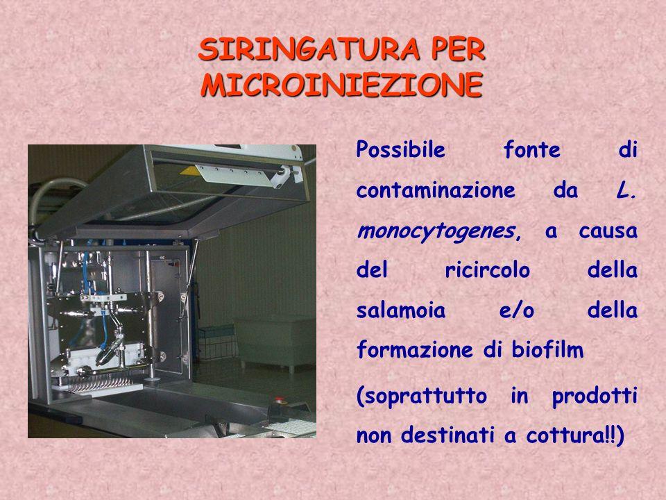 SIRINGATURA PER MICROINIEZIONE