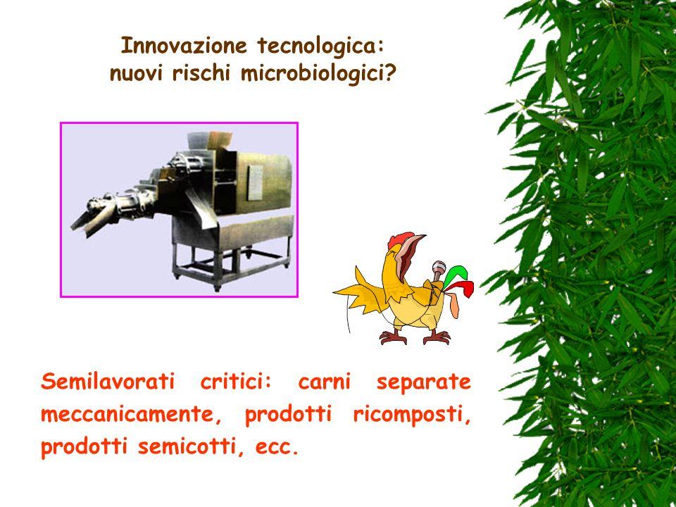 Innovazione tecnologica: nuovi rischi microbiologici