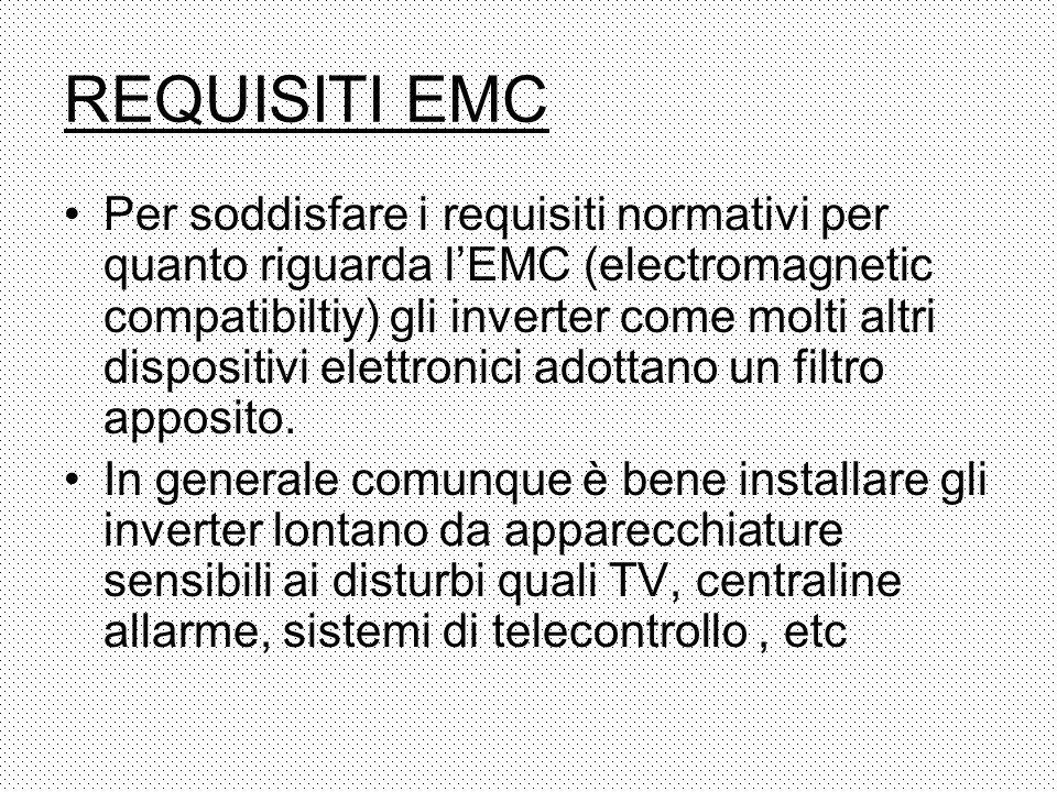 REQUISITI EMC