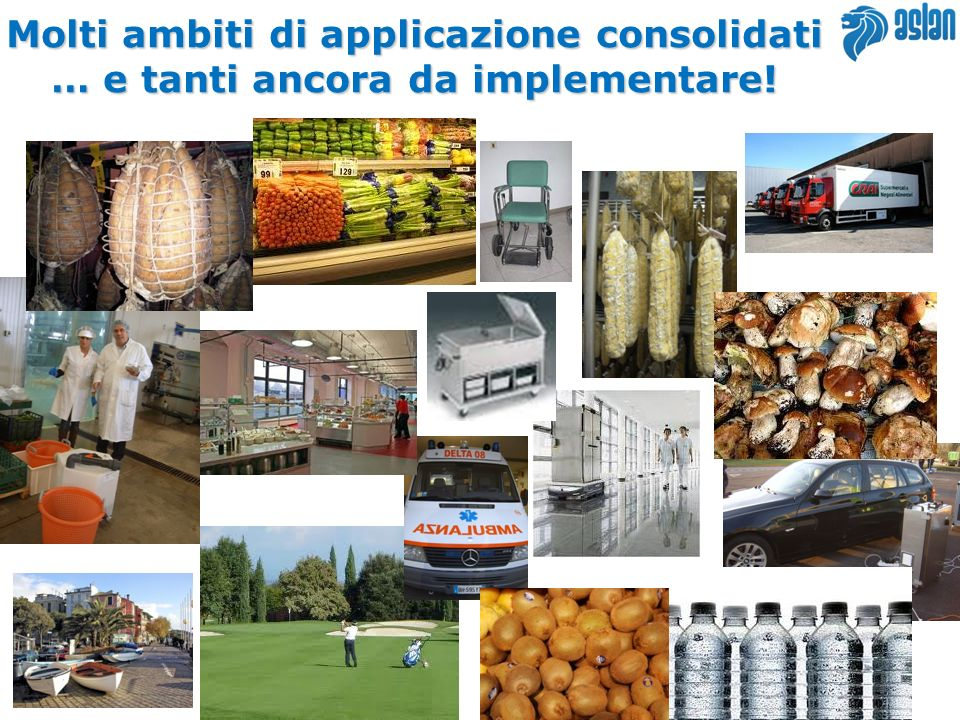 Molti ambiti di applicazione consolidati