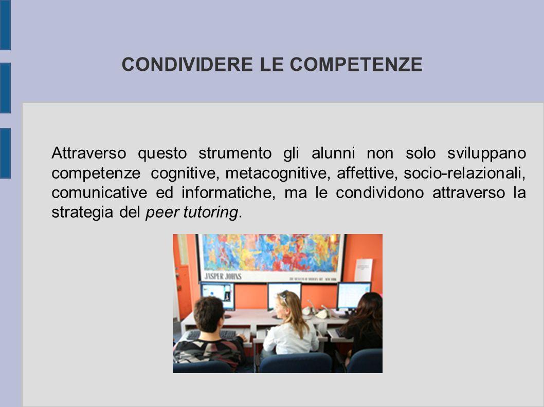 CONDIVIDERE LE COMPETENZE