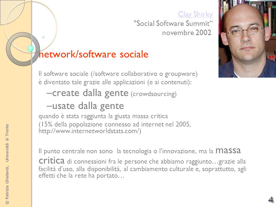 network/software sociale