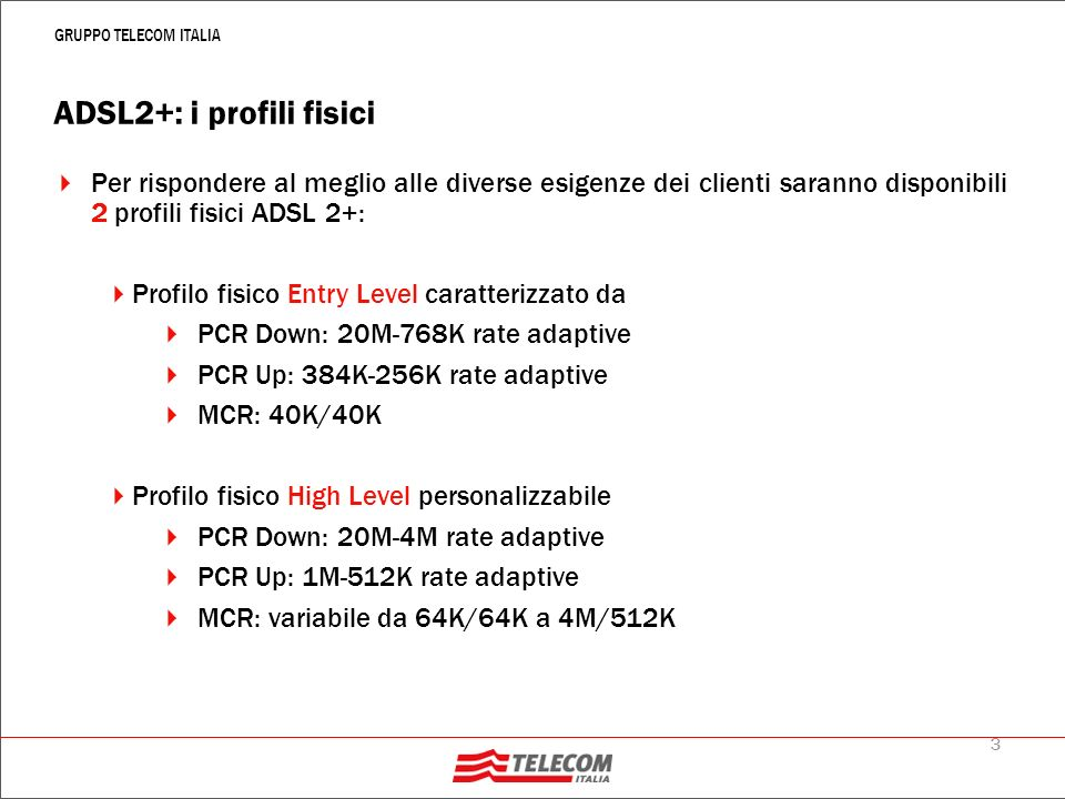 Alice Business – I nuovi profili commerciali ADSL 2+