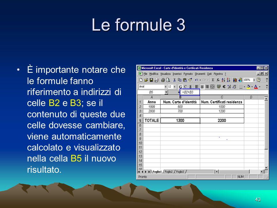 Le formule 3