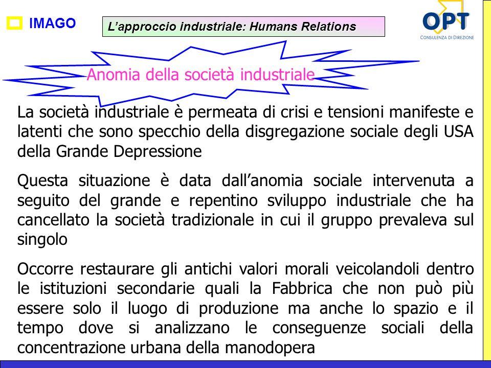 Anomia della società industriale