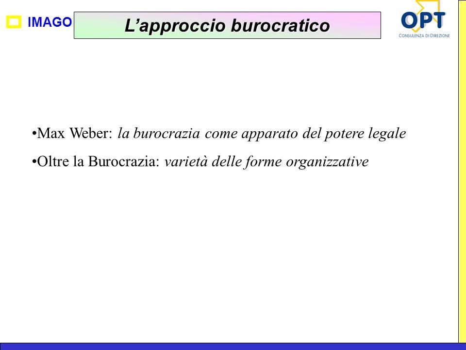 L'approccio burocratico