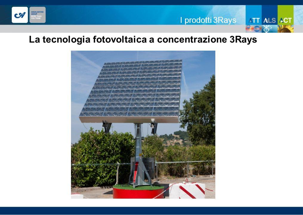 La tecnologia fotovoltaica a concentrazione 3Rays