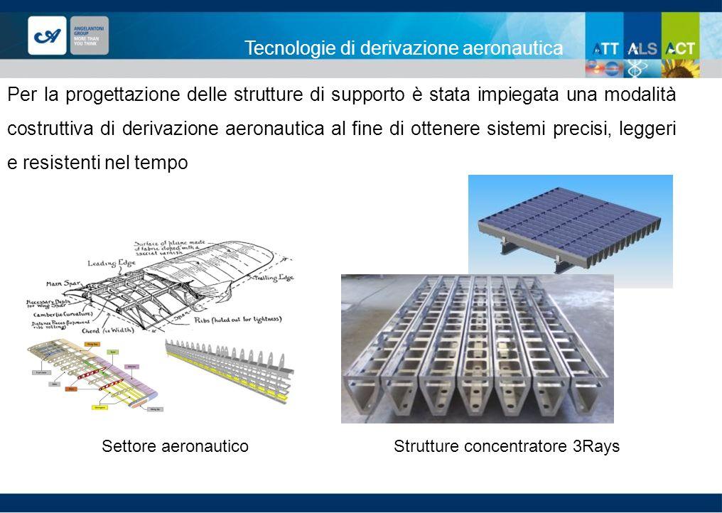 Strutture concentratore 3Rays