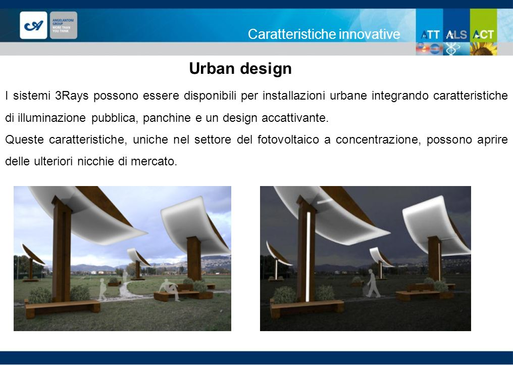 Urban design Caratteristiche innovative