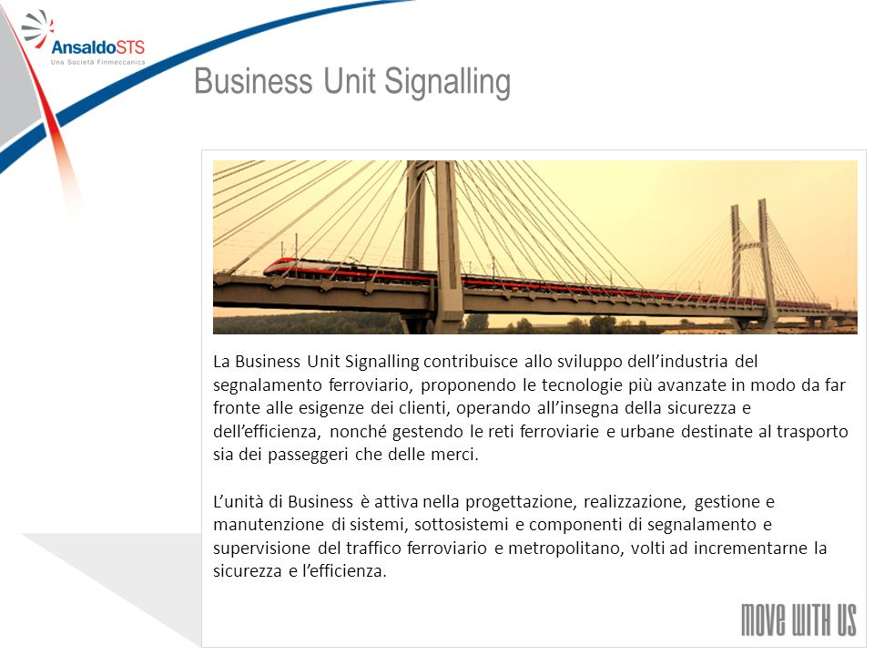 Business Unit Signalling