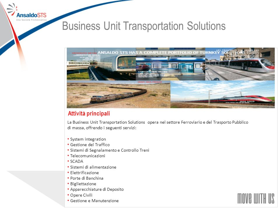 Business Unit Transportation Solutions